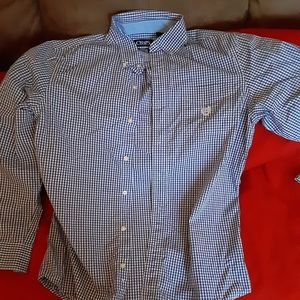 A long sleeve dress shirt